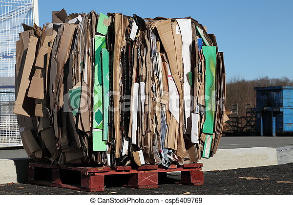 Recycling Cardboard Waste - csp5409769