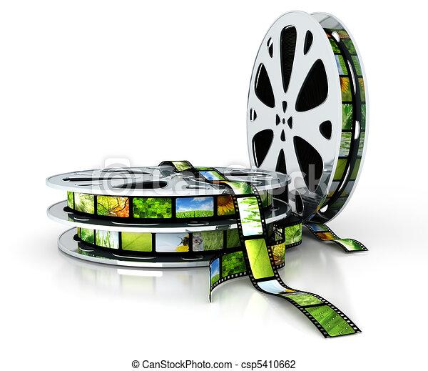 Film with images - csp5410662
