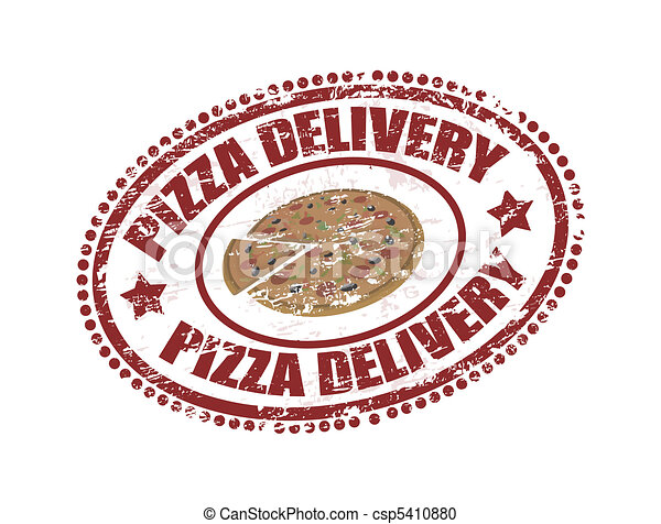pizza delivery  - csp5410880