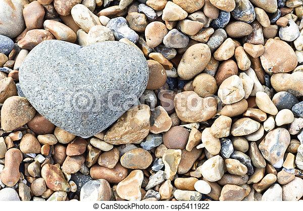 Heart Stone - Landscape Orientation - csp5411922