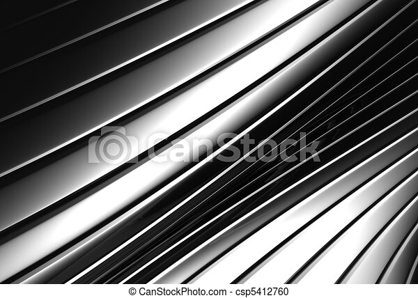 Aluminum abstract silver stripe pattern background - csp5412760
