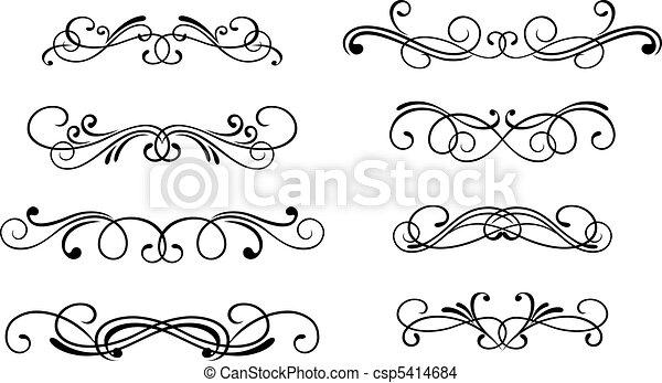 Swirl elements - csp5414684