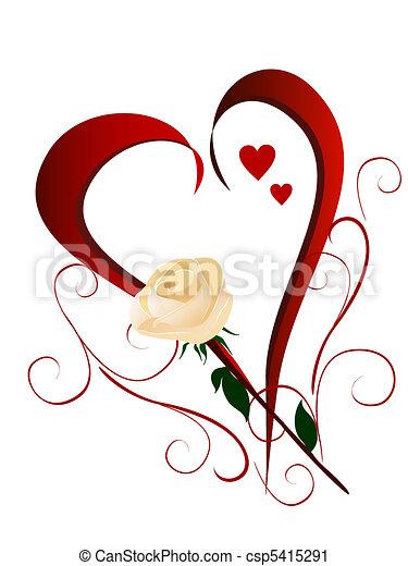 valentine`s day - csp5415291