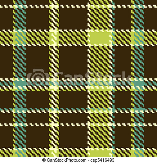 Seamless checkered pattern  - csp5416493