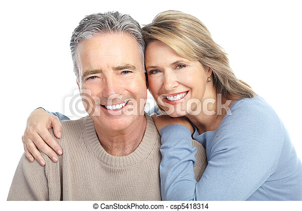Seniors couple - csp5418314