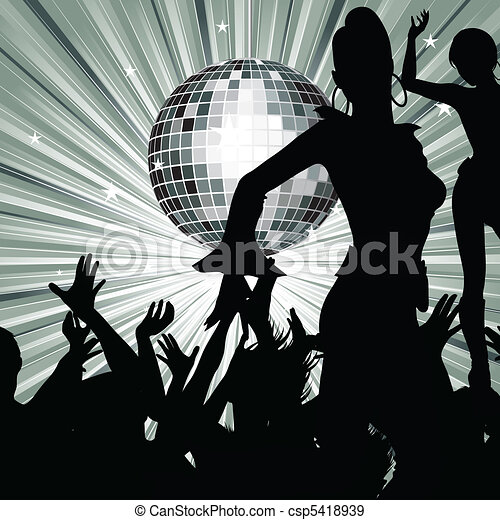 Retro party - csp5418939