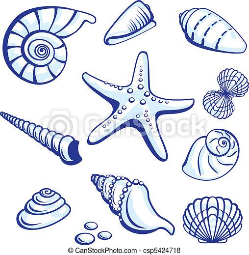 Sea Set - csp5424718