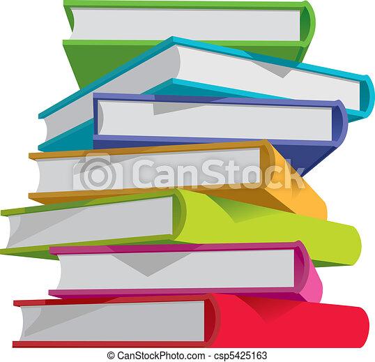 Books stack - csp5425163