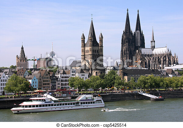 Cologne, Germany - csp5425514