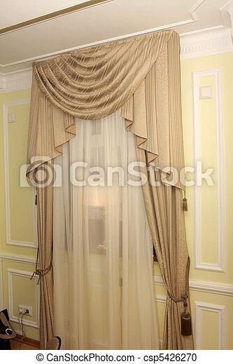 photo fen tre draperie image images photo libre de droits photos sous licence. Black Bedroom Furniture Sets. Home Design Ideas