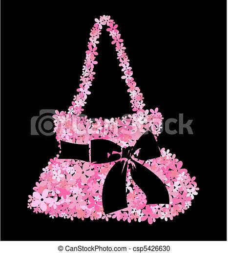 flower bag - csp5426630