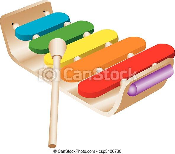 Child's Toy Xylophone - csp5426730