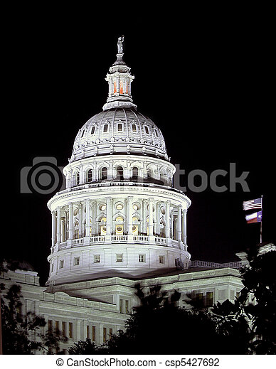 Texas State Capitol Dome       - csp5427692