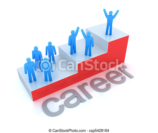 Career ladder concept - csp5428184