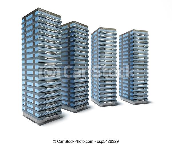 Hosting Server Farm - csp5428329