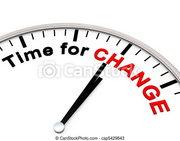 Time for Change - csp5429843