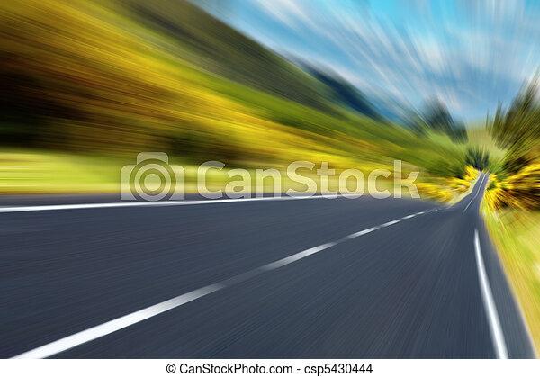 Road - csp5430444