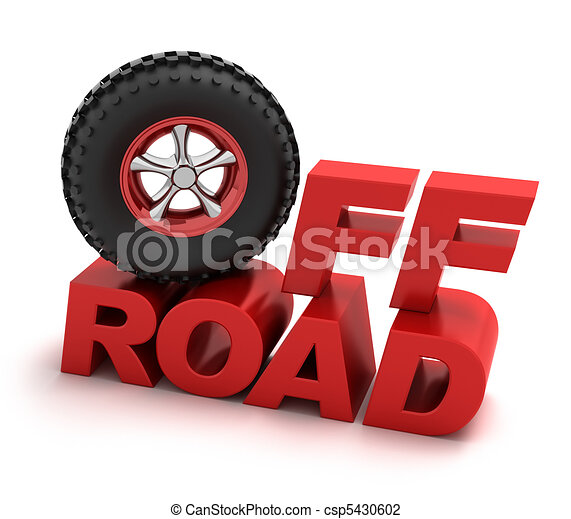 Off-road racing symbol - csp5430602