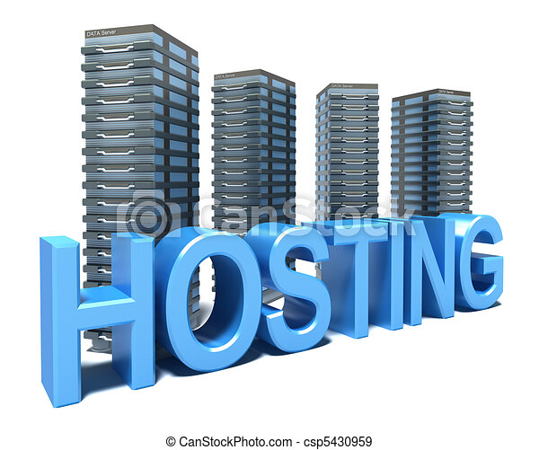 Hosting in front of gray Servers - csp5430959