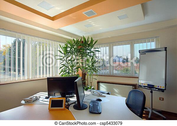Interior, escritório - csp5433079