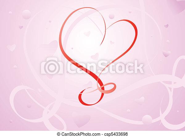 Valentines Day background - csp5433698