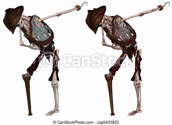 Pirate Skeleton - csp5433823
