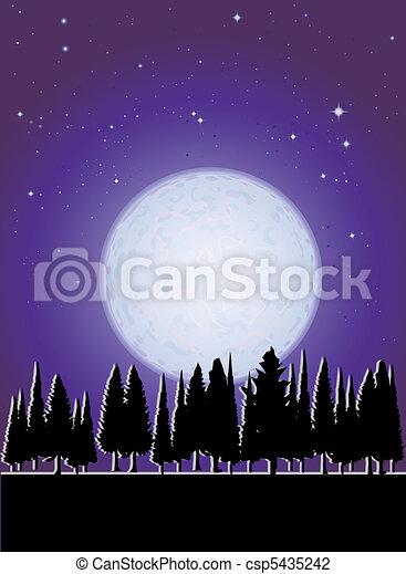 amount of moonlight - csp5435242