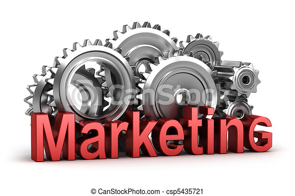 Marketing in the movement - csp5435721