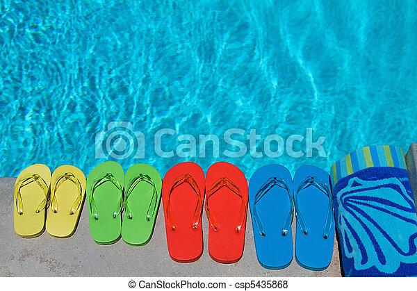 Summer Flipflops - csp5435868