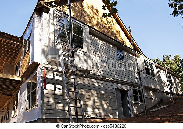 Home Construction Siding - csp5436220