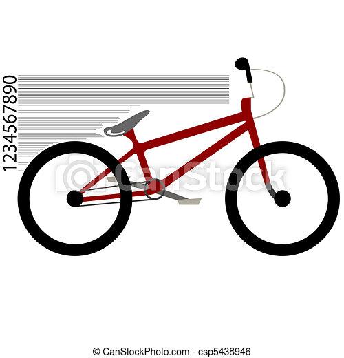 bicycle moving - csp5438946