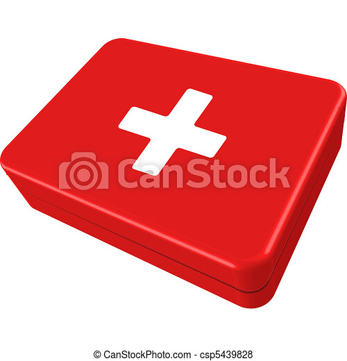 first aid box - csp5439828