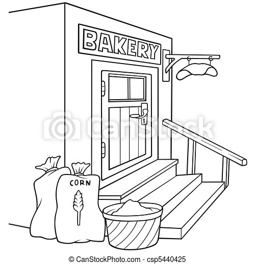 Bakery Clipart Black And White Bakery Black And White