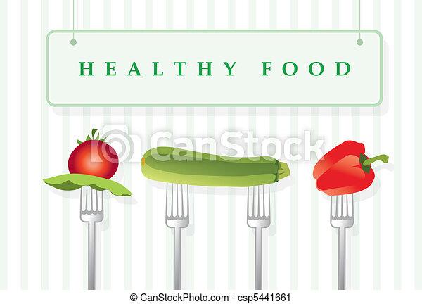 Healthy food - csp5441661