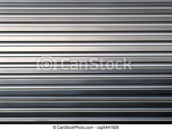 metal, textura, Brillar - csp5441926