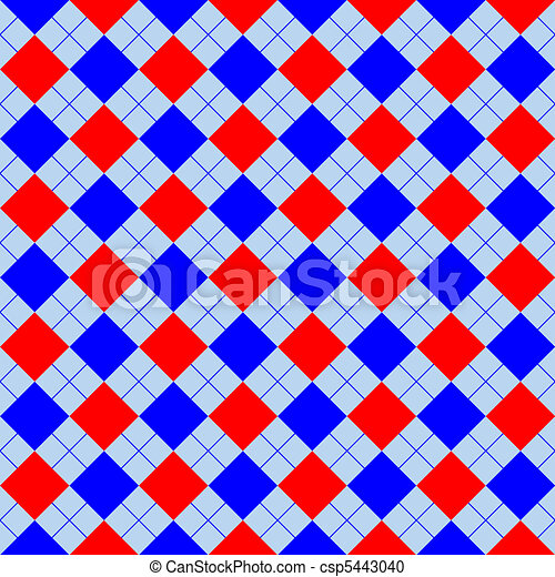 red and blue sweater texture - csp5443040