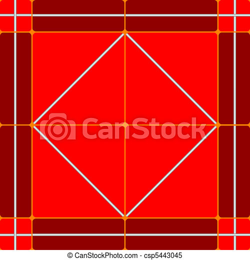 red ceramic tiles - csp5443045