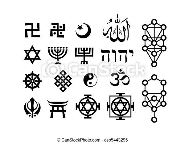 orientalische symbole