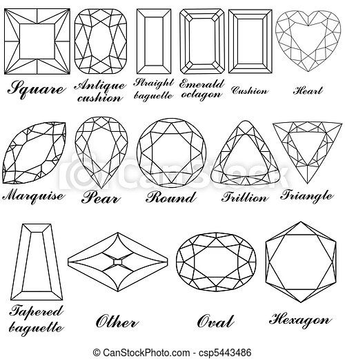 Teardrop Jewel Coloring Pages