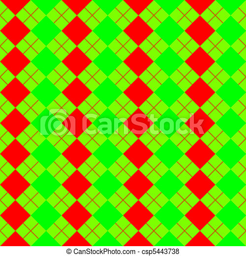 sweater texture mixed red and green - csp5443738