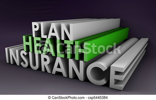 Health Insurance Plan - csp5445384