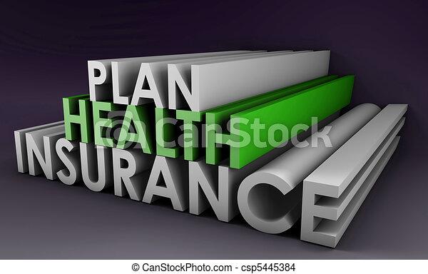 Health Insurance Plan - csp5445384