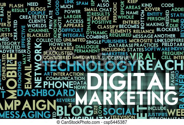 Digital Marketing - csp5445387