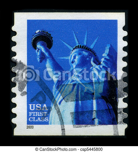 Postage stamp. - csp5445800