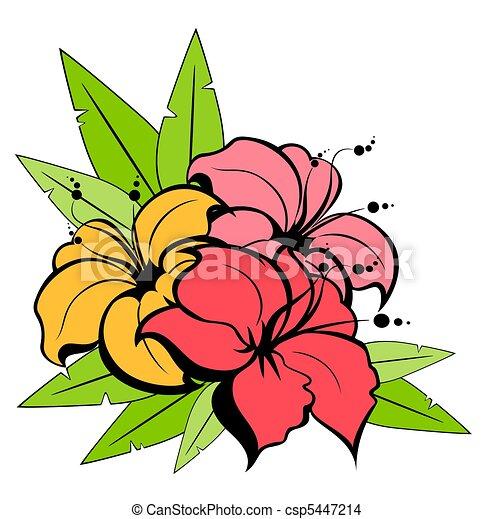 witte achtergrond tekening bloemen - photo #4