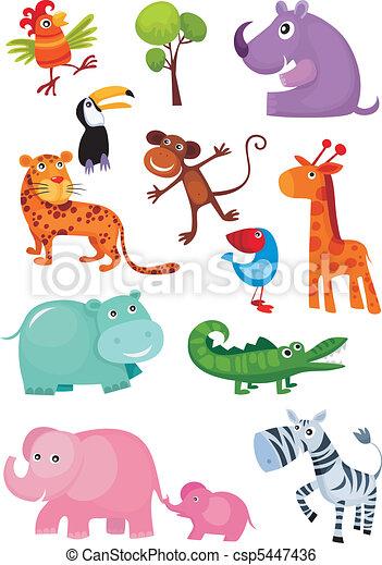 animal set - csp5447436