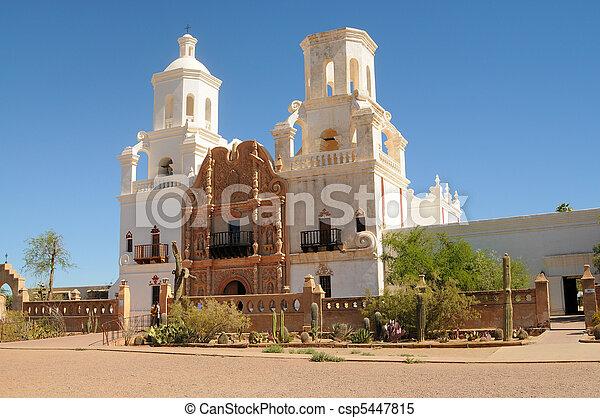 Mission san Xavier del Bac - csp5447815