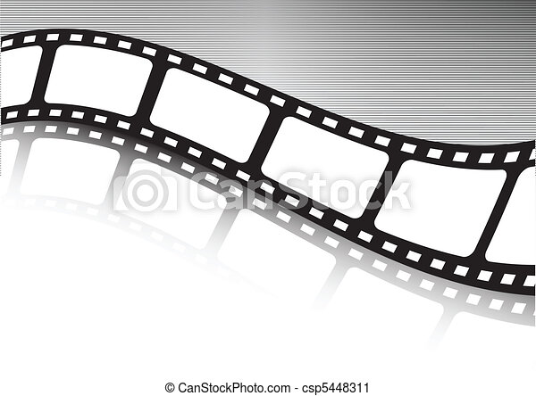 Vector Clip Art of Vector film strip various background collection ...