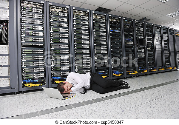 system fail situation in network server room - csp5450047