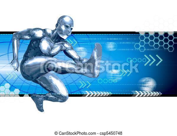 Leaping Forward - csp5450748